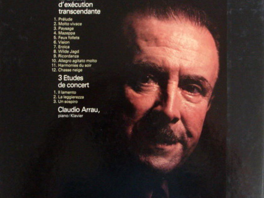 Philips / ARRAU, - Liszt 12 & 3 Etudes, MINT, 2LP Box Set!
