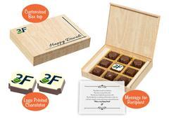 Diwali gifting ideas for corporate (9 Chocolates - 100 Box)
