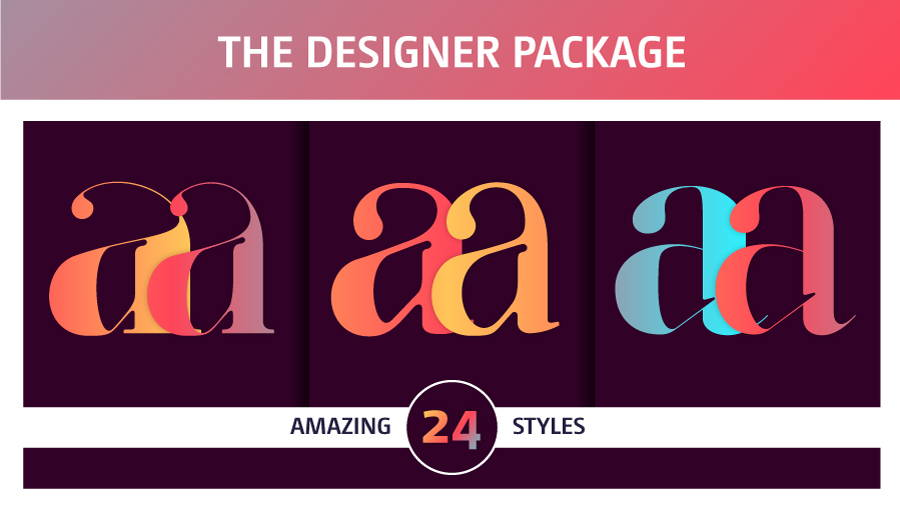 The Essential Fonts Package by Moshik Nadav Typography