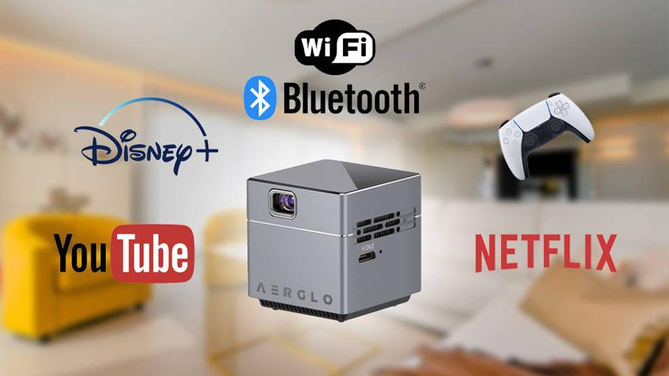 Wifi, Bluetooth, Netflix and Youtube