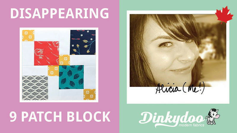 quilt tutorial how to make a disappearing 9 patch block