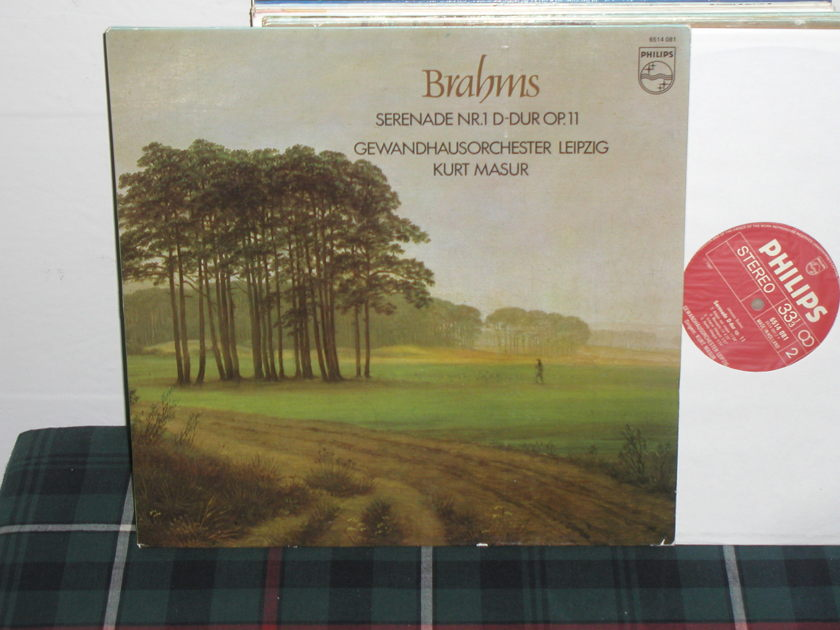 Masur/GL - Brahms Serenade 1 Philips Import Pressing 6500