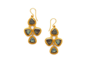 Julie Vos Pegasus Stone Chandelier Earrings