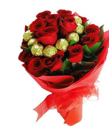 HF Chocolaty Roses Bouquet