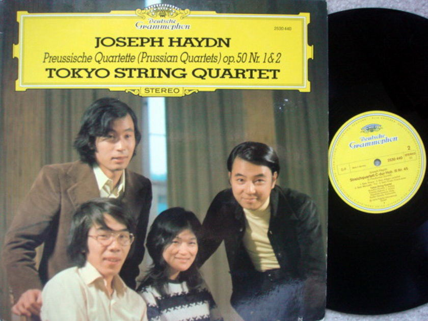DG / TOKYO QT, - Haydn Prussian Quartets, MINT!