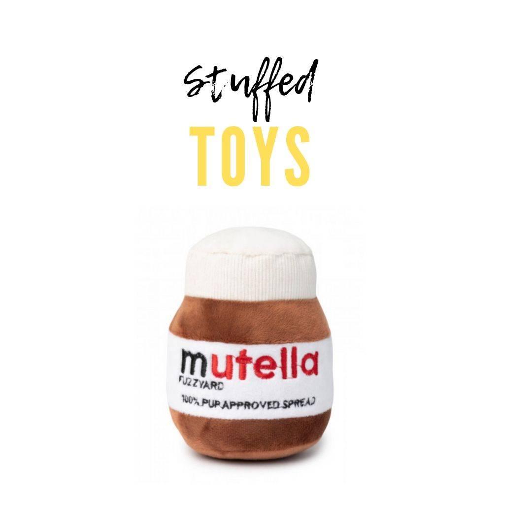 Nutella Dog Toy | Plush Dog Toys | Gift Spawt