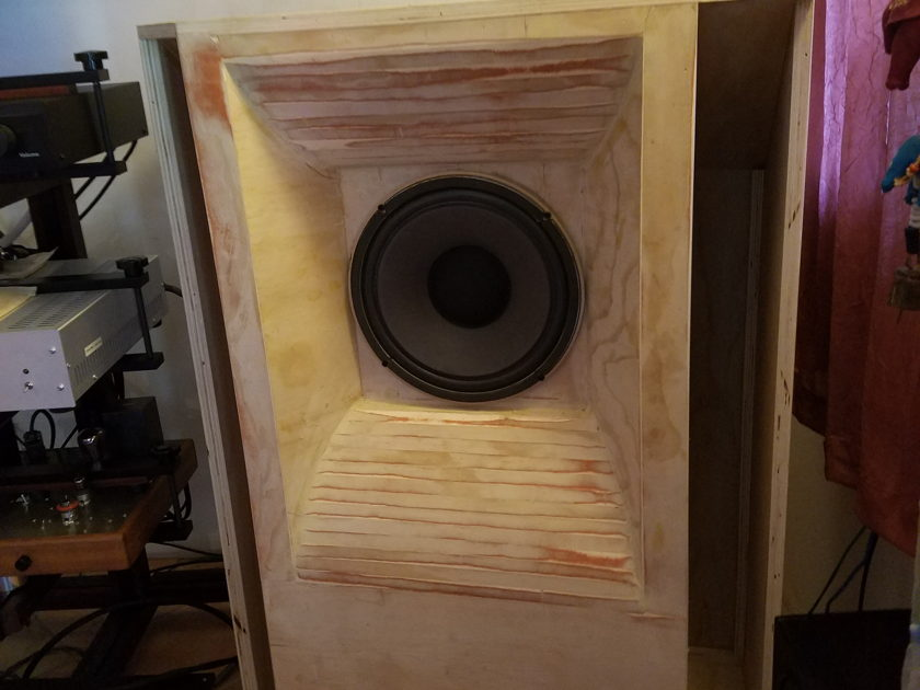 "Vintage Sound Shed Custom House  ""Cambridge"" Front/Rear Loaded Horn for vintage Tannoy driver prototype"