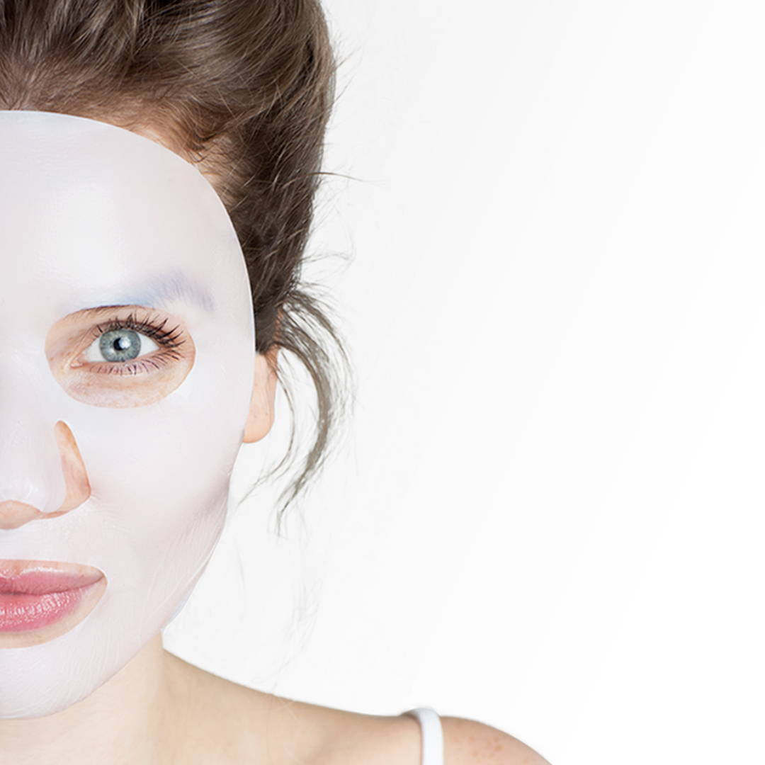 Kerello face mask illustration: a mask that fits like a second skin