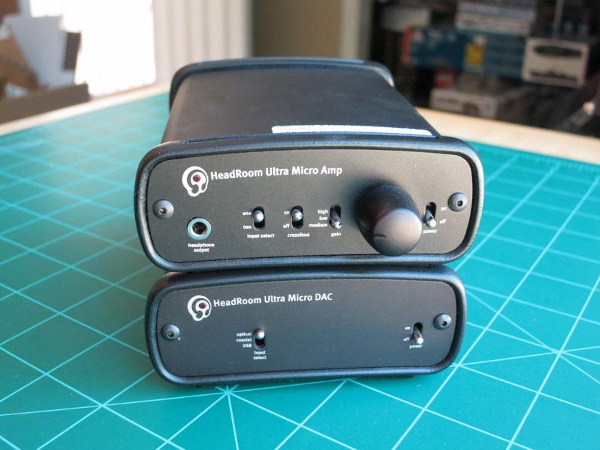 HeadRoom Corp Ultra Micro DAC and Amp