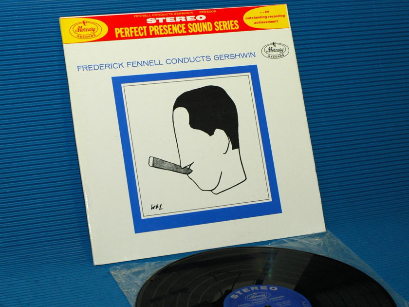 "GERSHWIN / FENNELL  - 'Frederick Fennell Conducts Gershwin"" -  Mercury Perfect Presence Series 196? 2nd pressing"