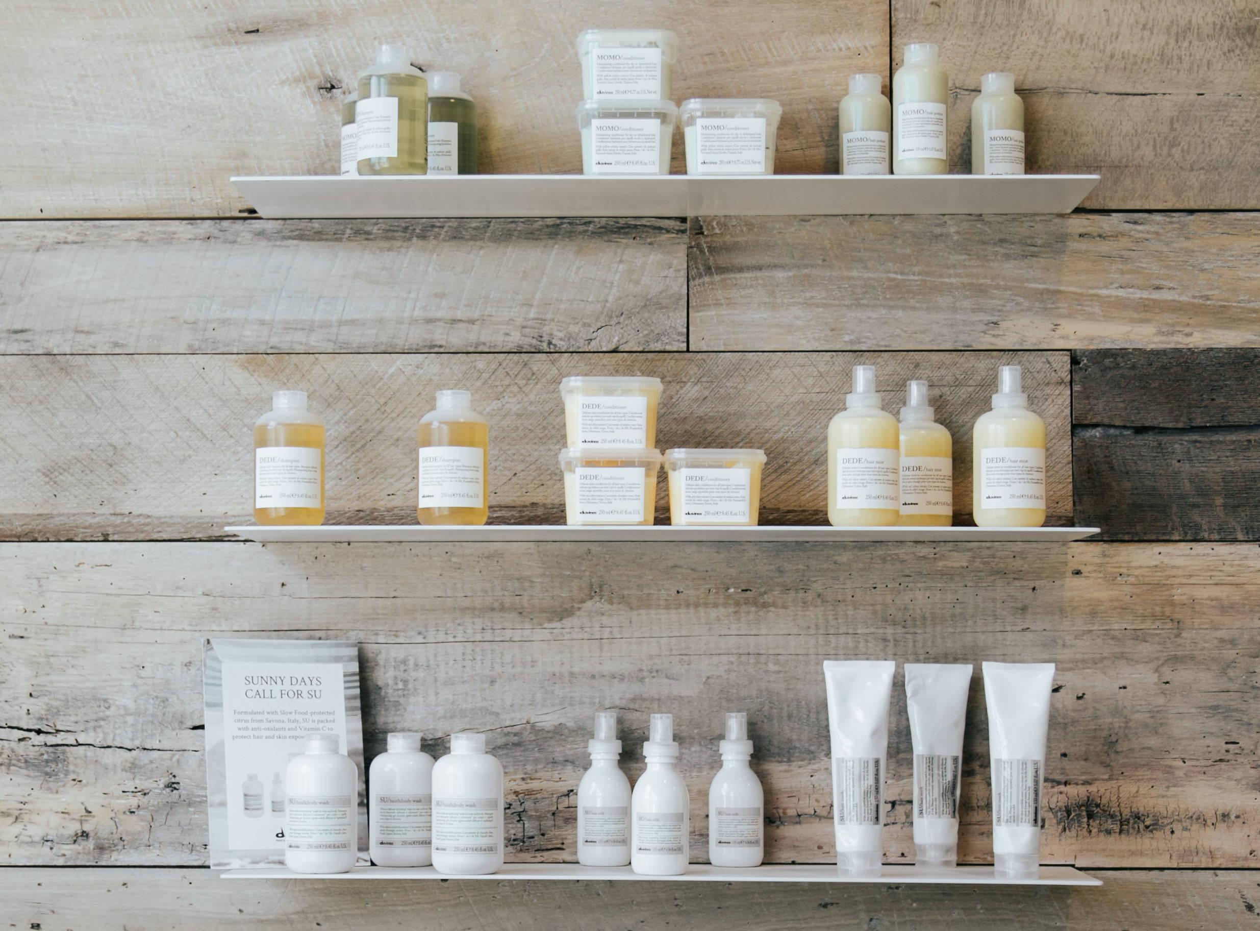 Davines moisturizing hair products