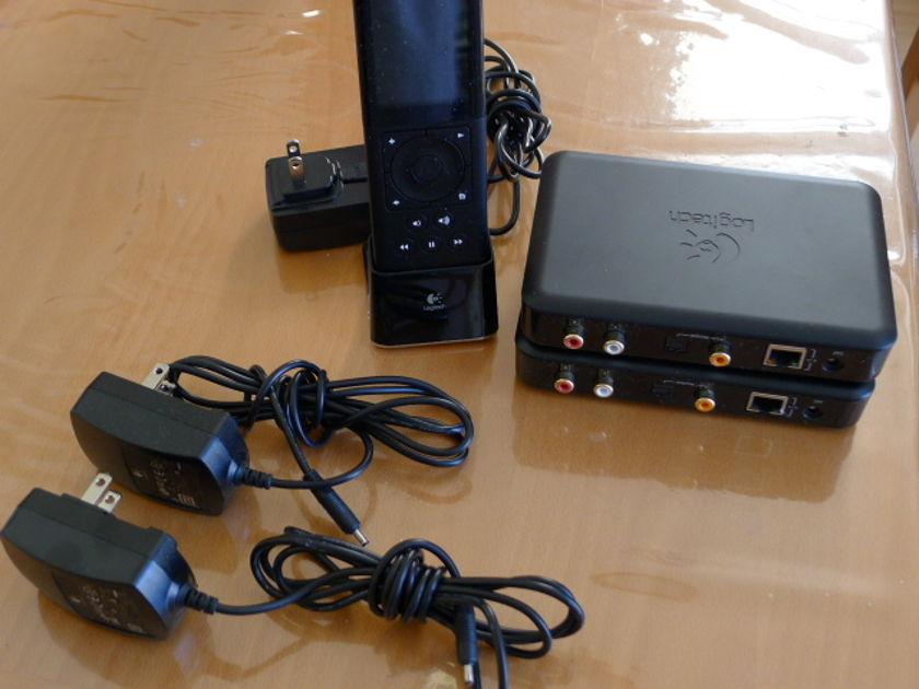 Logitech Squeezebox Duet  WiFi - 1controller+2receivers Nice condition