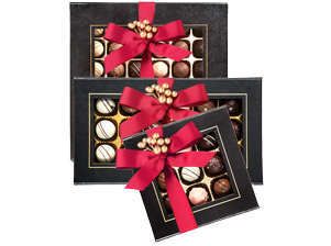 Black Box Chocolate Truffles Christmas range
