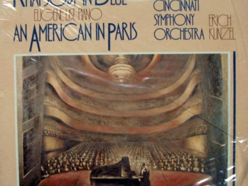 ★Sealed Audiophile★ TELARC / KUNZEL, - Gershwin Rhapsody in Blue, An American in Paris!