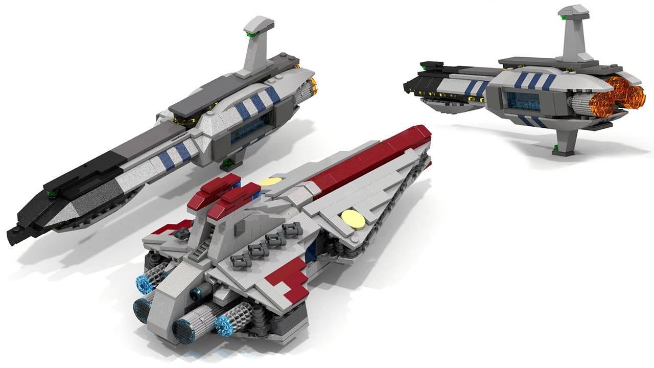 Simple LEGO Star Wars