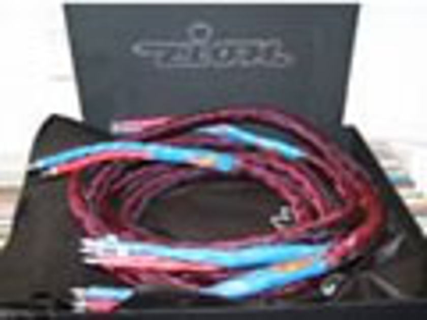 Zion SP-2  Silver Speaker Cables 50 strds of 0.003mm 5N 99.99997% pure continuous cast silver