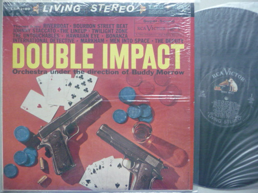 DOUBLE IMPACT  - BUDDY MORROW RCA LP EXCEL