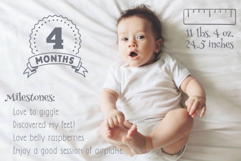 baby milestone photo app free