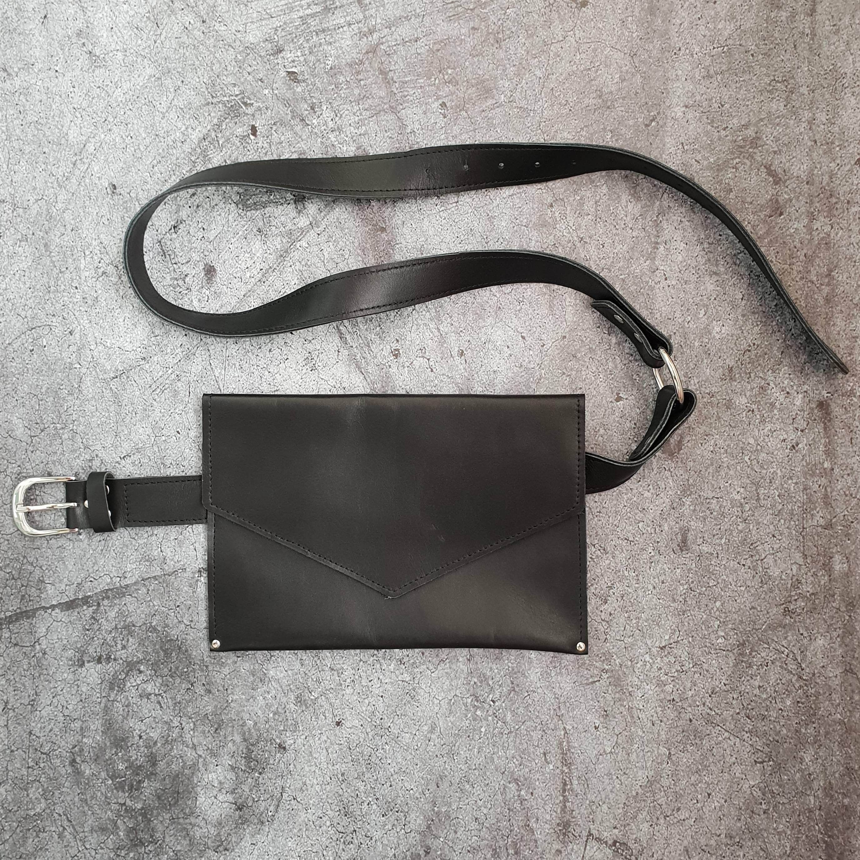 cfdc00709129 Поясная сумка из кожи Maple в магазине «MOX.» на Ламбада-маркете