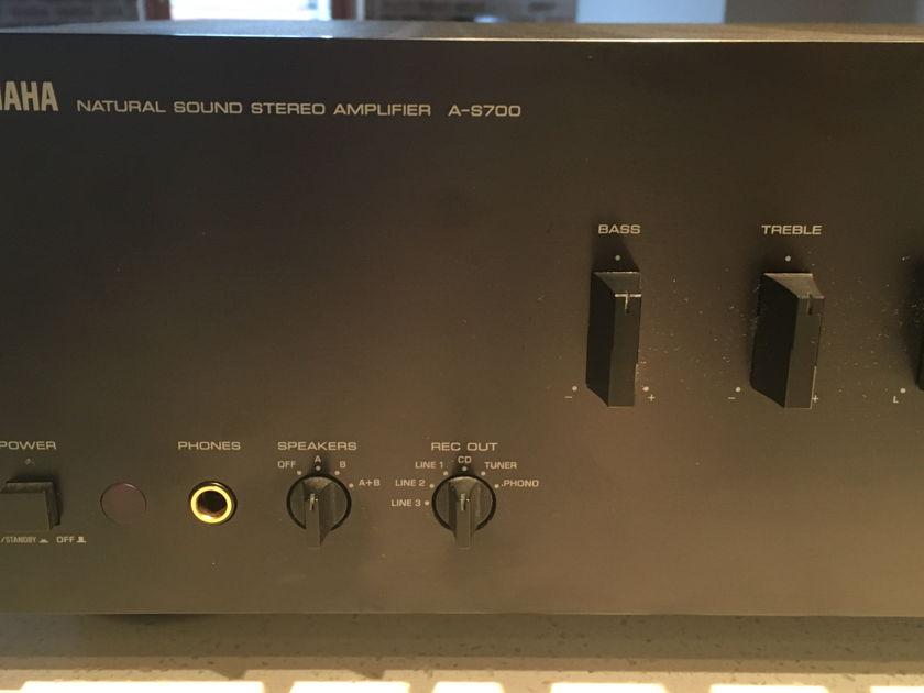 Yamaha As-700 Black