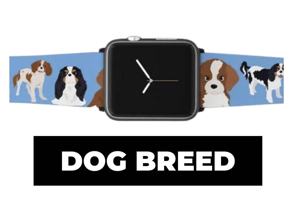Dog breed apple watch band
