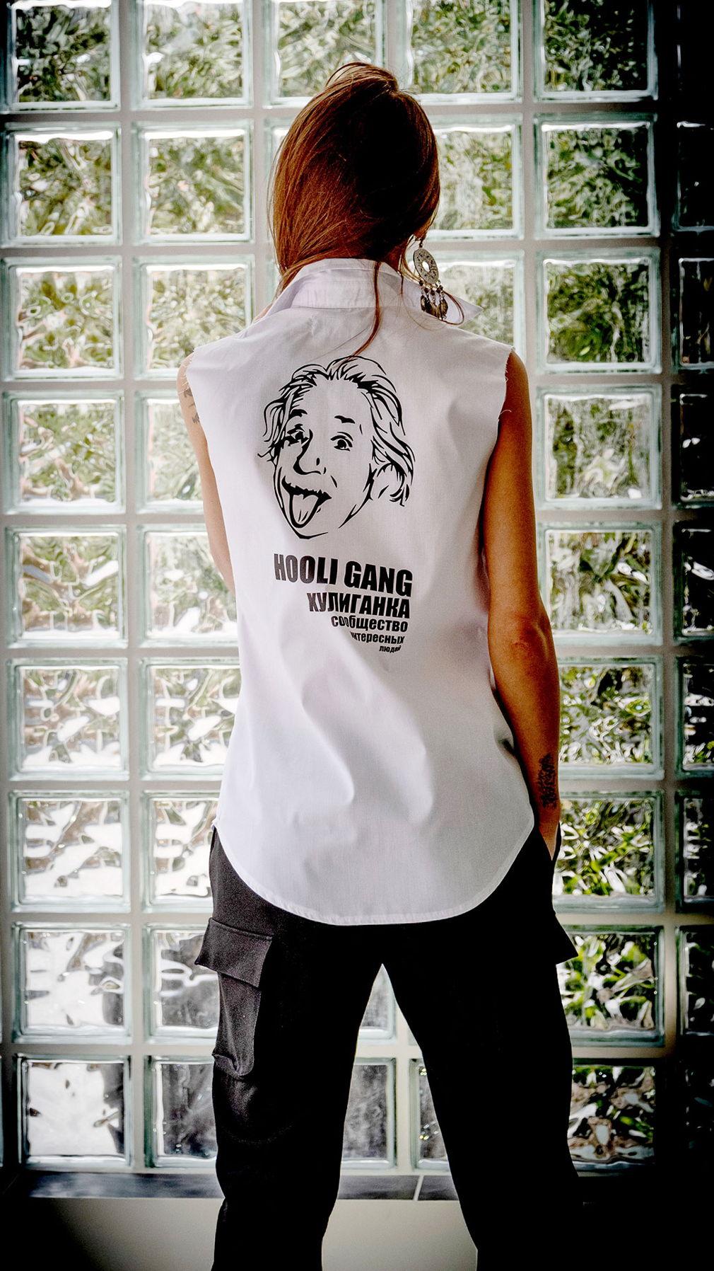 Рубашка без рукавов HooliGang