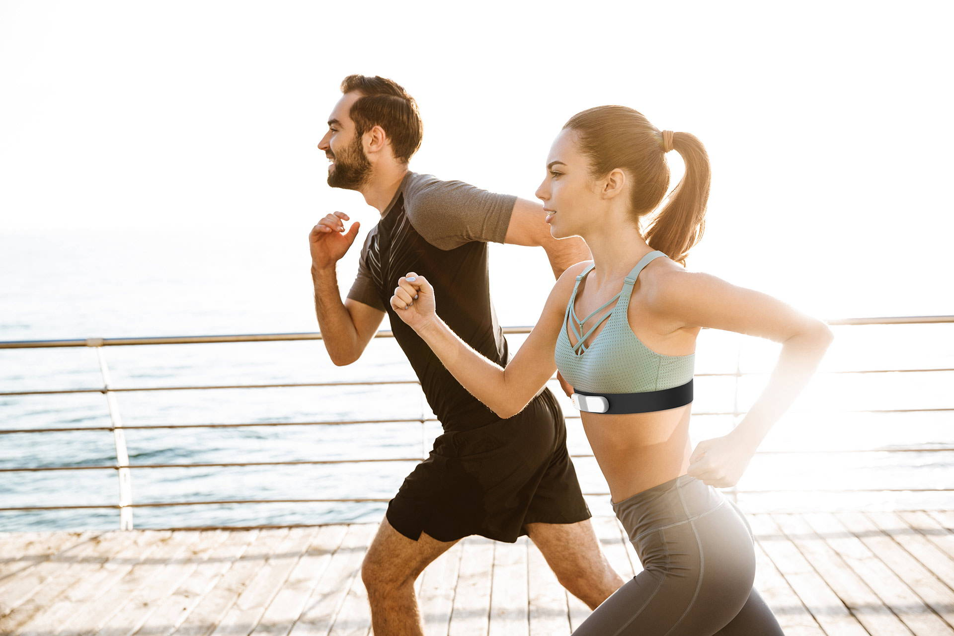 buy sports ECG heart rate tracker