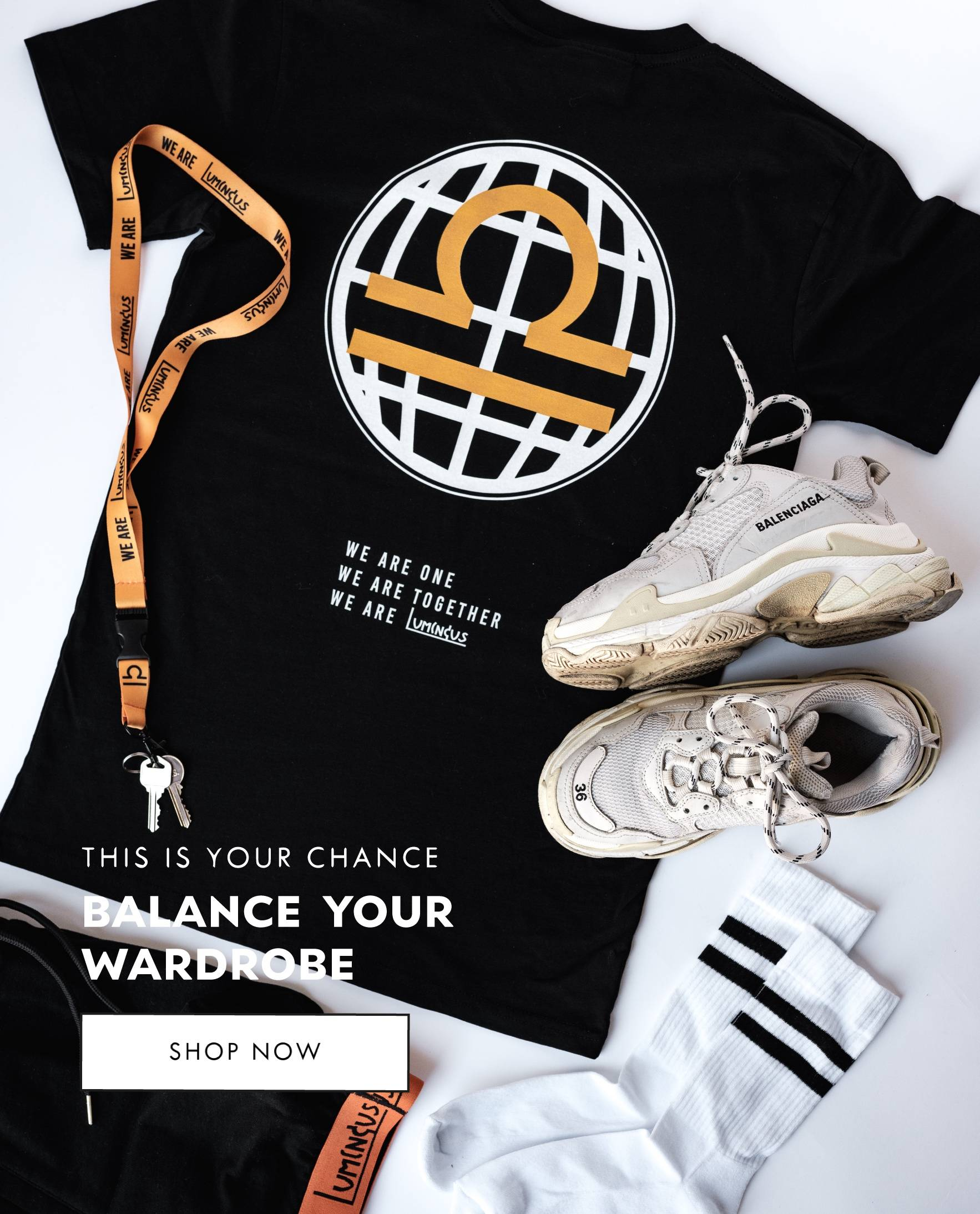 Balance your wardrobe - This is your chance