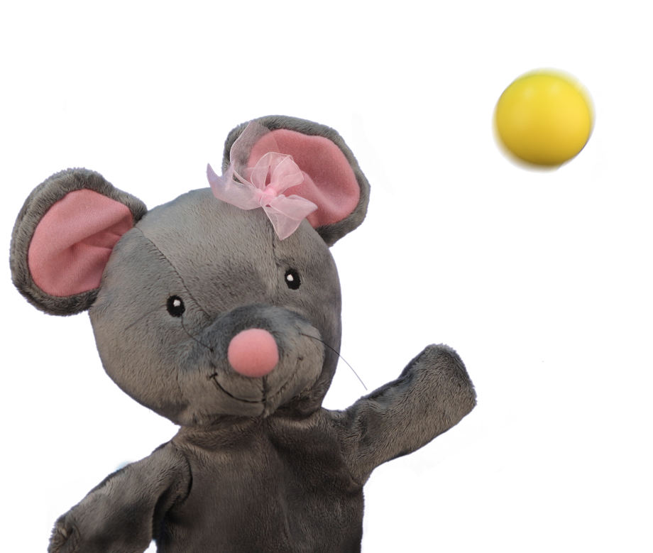 Primrose Preschool  initial puppet