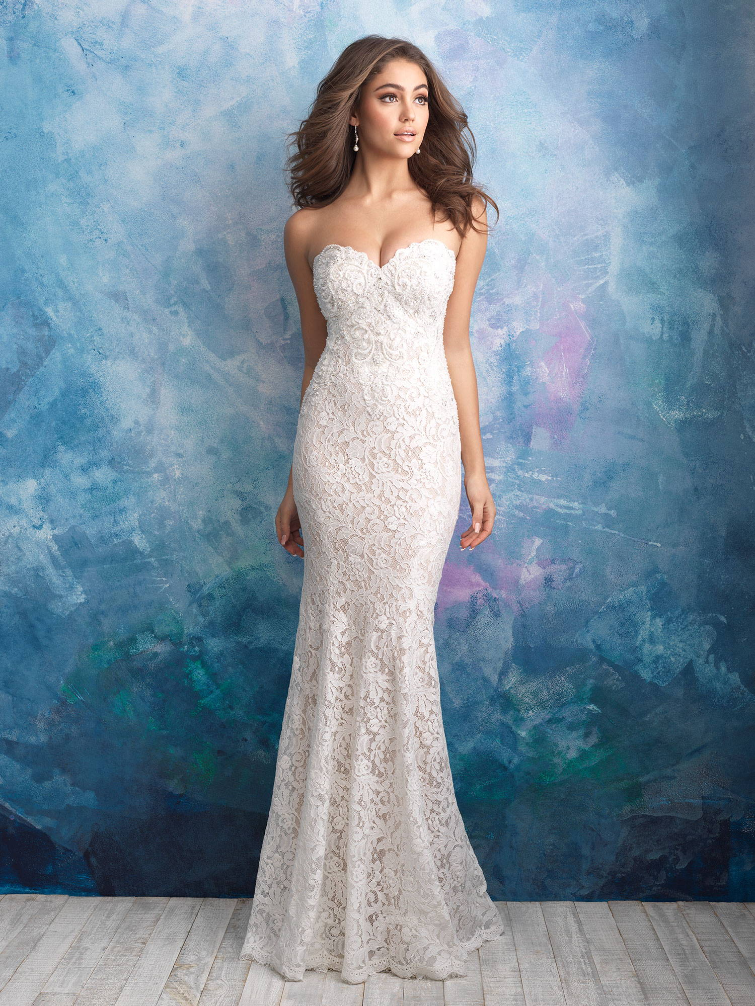 ALLURE  WEDDING DRESS 9566