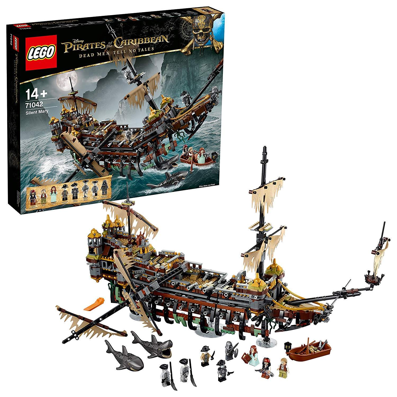 LEGO THE SILENT MARY 71042