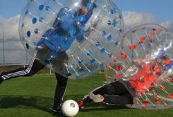 bubble soccer titelbild