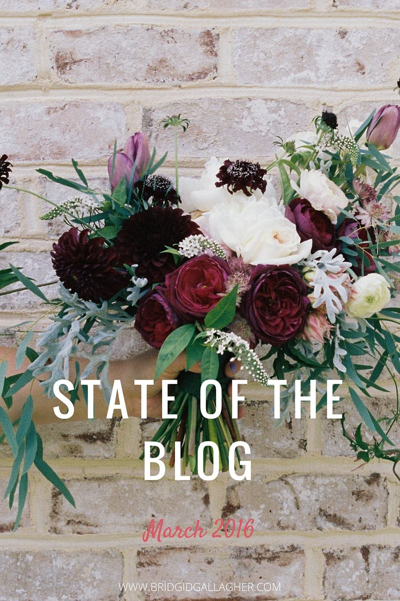 March 2016 State of the blog report: Want a behind-the-scenes glance at what's working/not working for my blog? Take a look to learn about my blogging goals and what I'm doing to reach them >>>>>