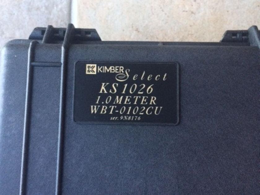 Kimber Kable KS-1026 Interconnects