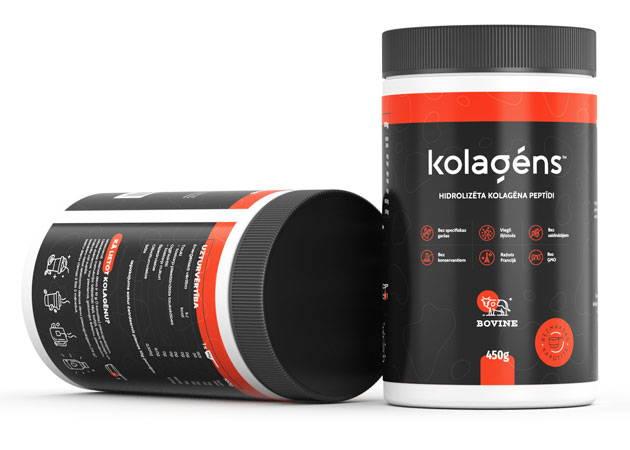 Kolagēna pulveris
