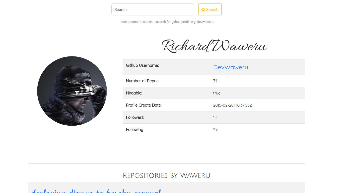 Richard Waweru | Home