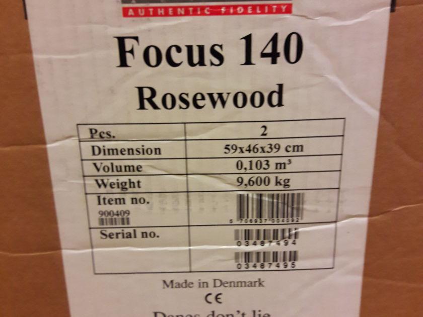 Dynaudio Focus 140 * Bookshelf Speakers * Rosewood Finish