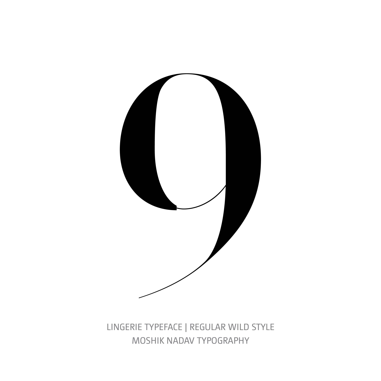Lingerie Typeface Regular Wild 9