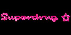 superdrug logo pink