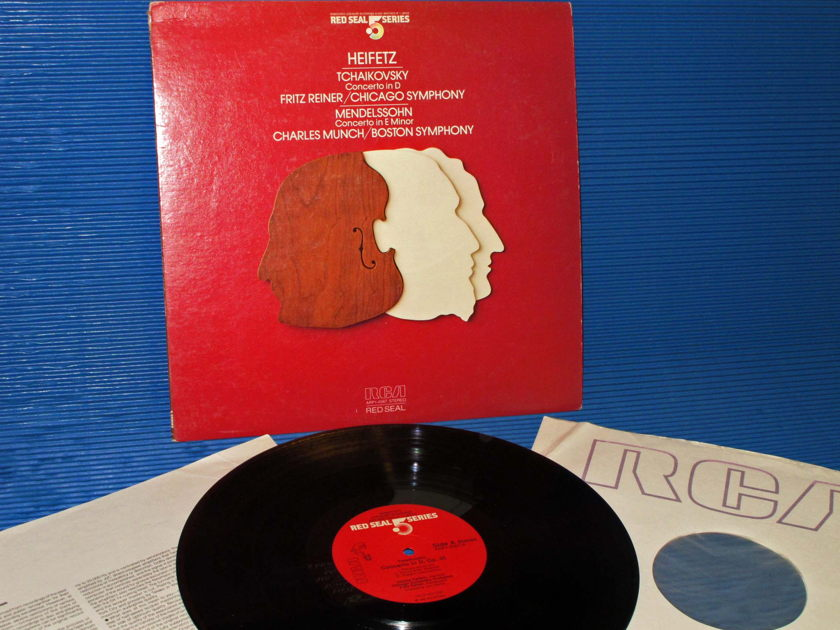 "TCHAIKOVSKY / Heifetz  - ""Violin Concerto in D"" - RCA .5 Audiophile Series 1983"