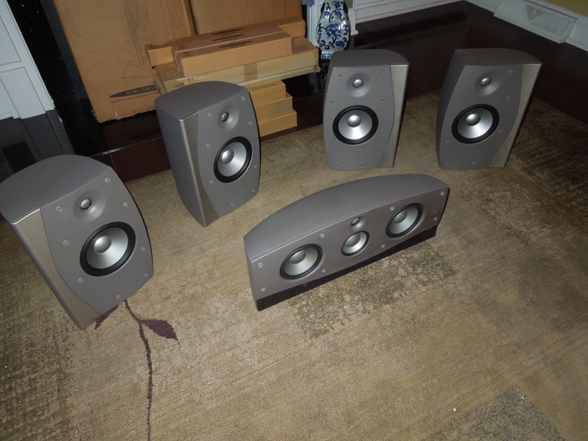 """Infinity Intermezzo 2.6/3.5c 5 speaker SURROUND system STEREOPHILE class """"A"""" rated !"""