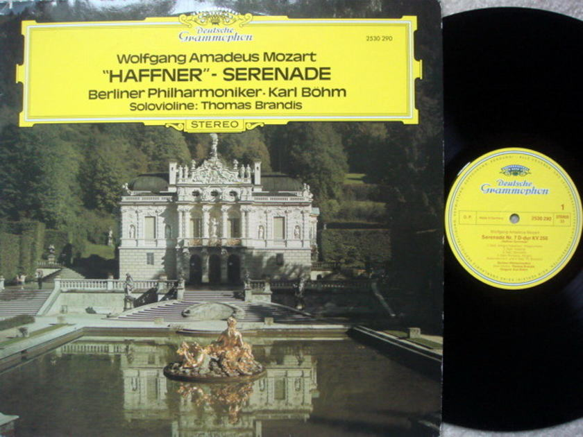 DG / BOHM-BPO, - Mozart Haffner Serenade, NM!