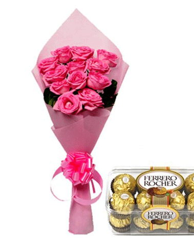 HF Pink Love with Chocolates