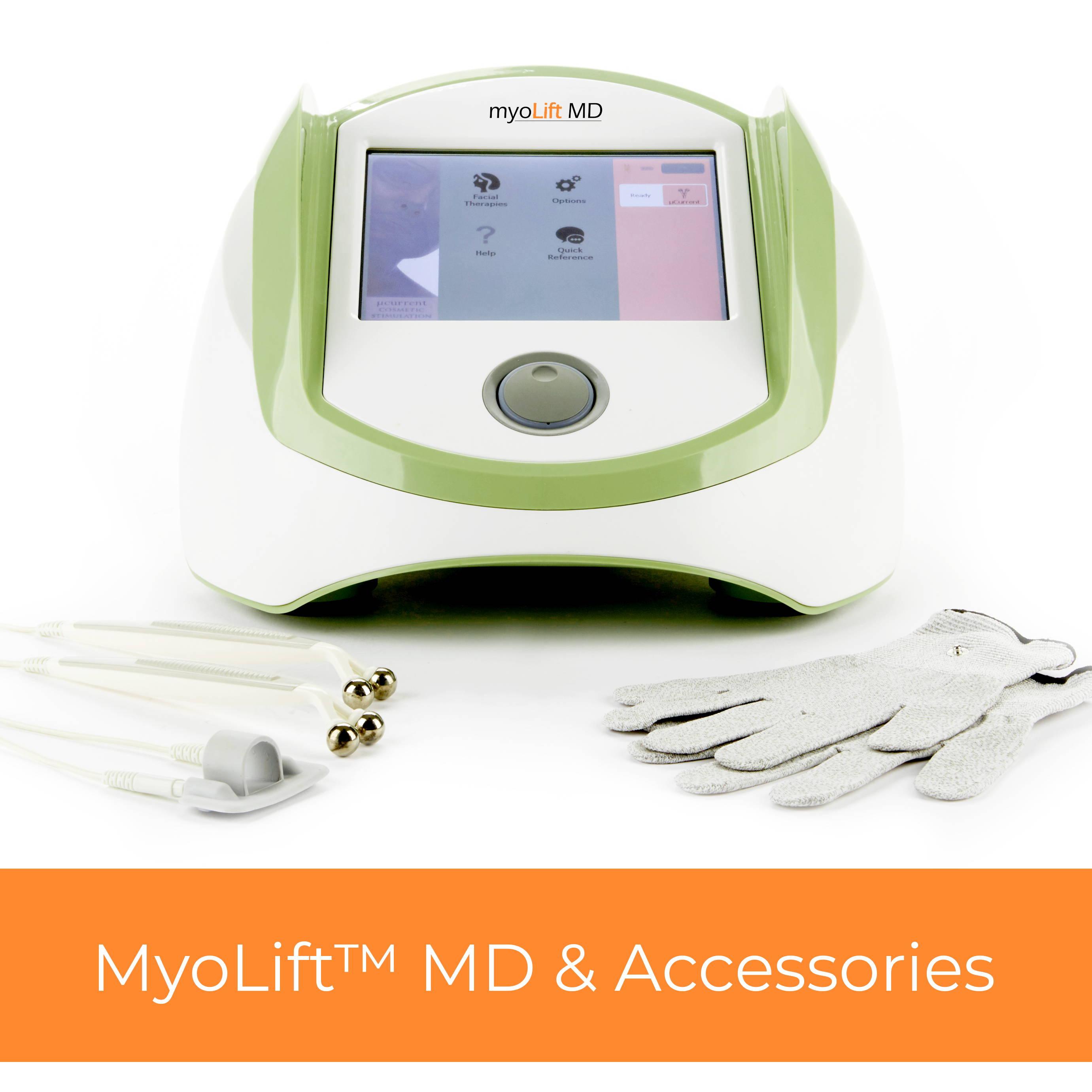 Myolift Ultra professional microcurrent machine and accessories