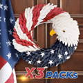 american eagle wreath,door wreaths, wreath you 'll love in 2020, patriotic front door wreath