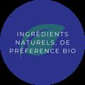 ingrédients naturels et bio
