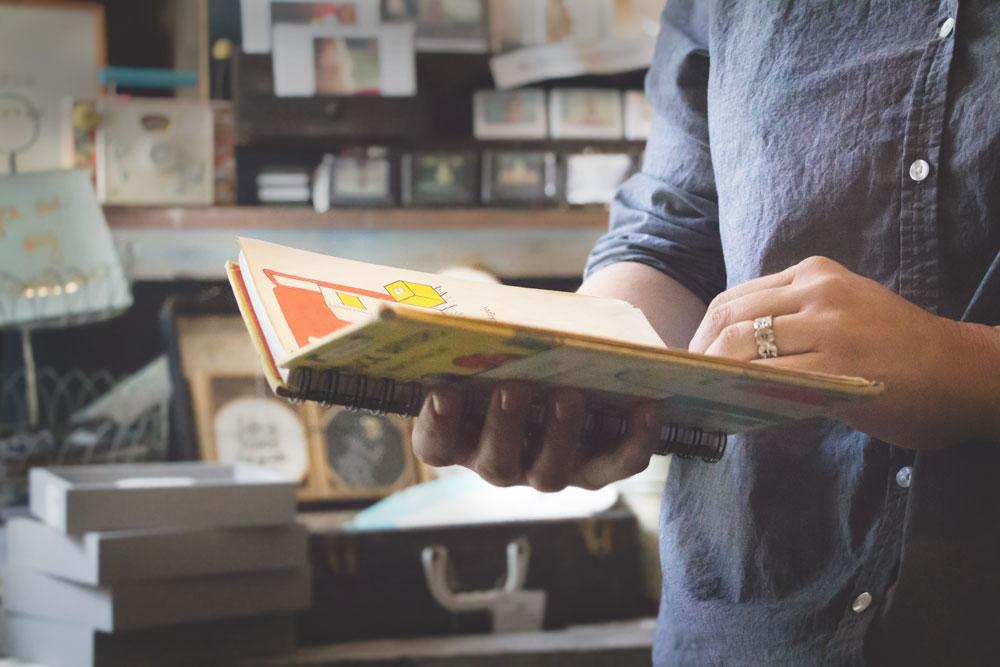 Primitive Beginnings new store Ellicott City childrens notebooks gift