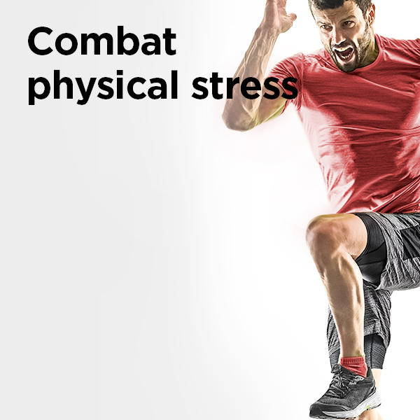 combat physical stress