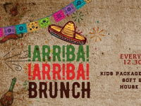 ARRIBA ARRIBA FRIDAY BRUNCH image