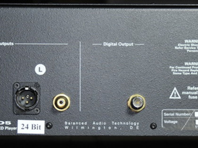 Balanced Audio VK-D5 SE CD/SACD Player